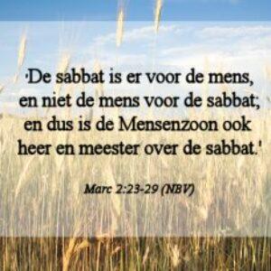 Christenen en de sabbat als rustdag